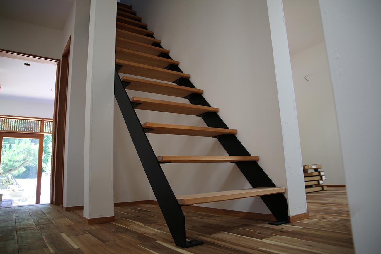 Stair frame for house