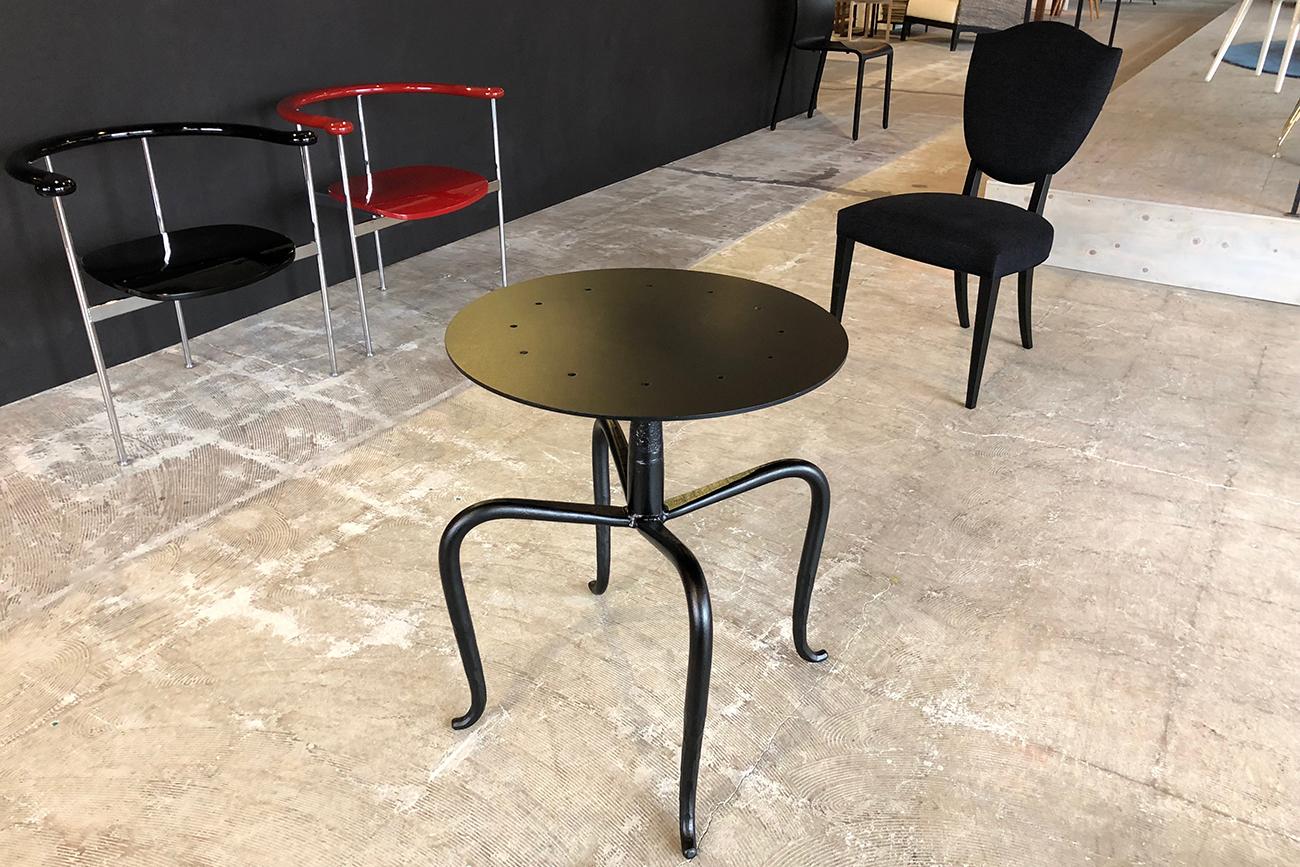 Iron leg for table (prototype)
