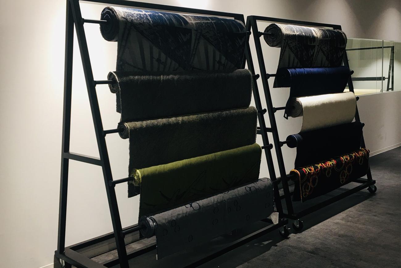 Fabric rack